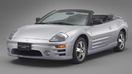 三菱のコンパクトカジュアルオープンカー「エクリプススパイダー」。希少なクルマの魅力に迫る